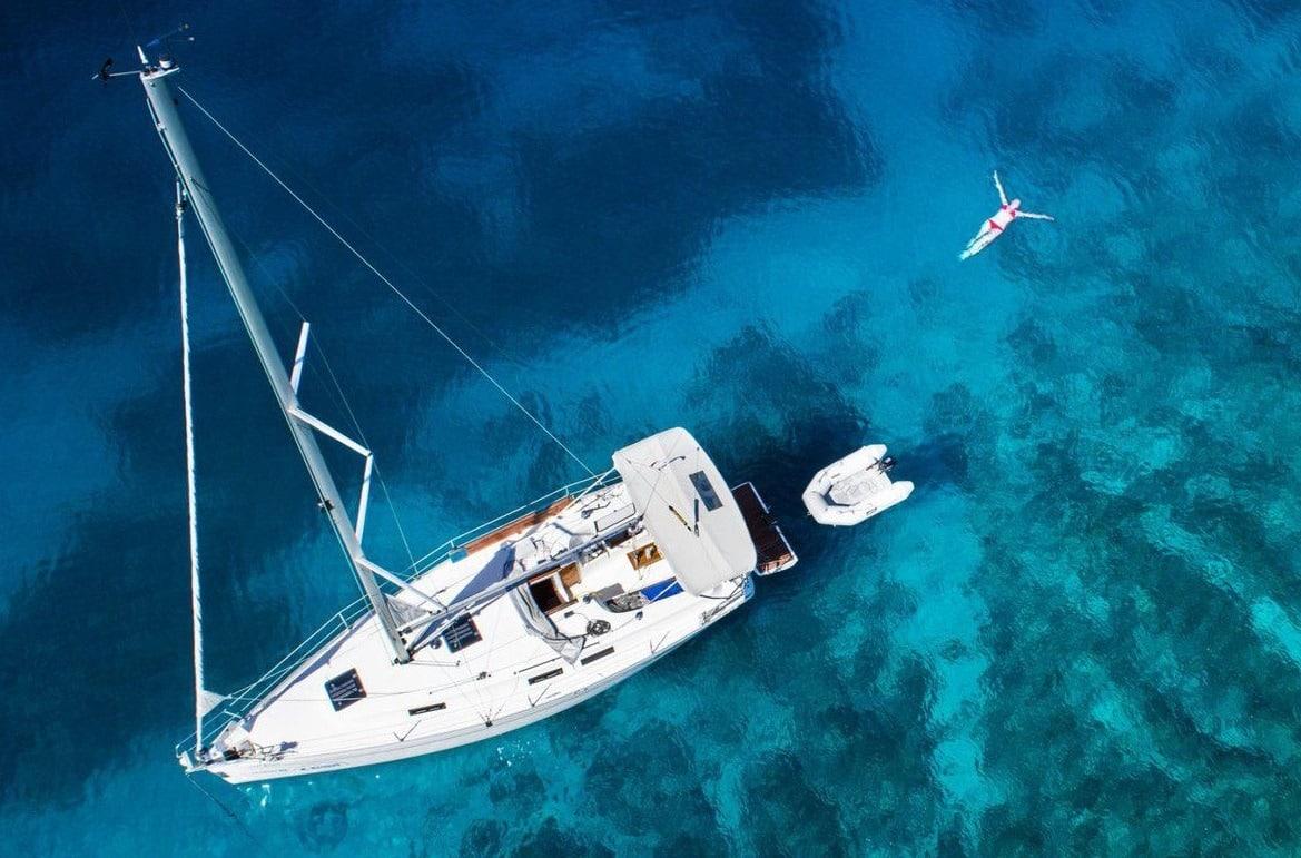 Un bateau privé