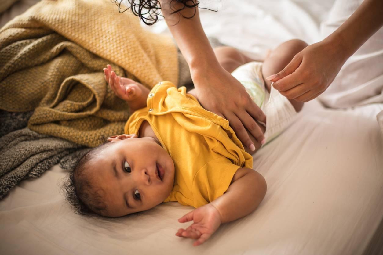 couches naturelles bébé