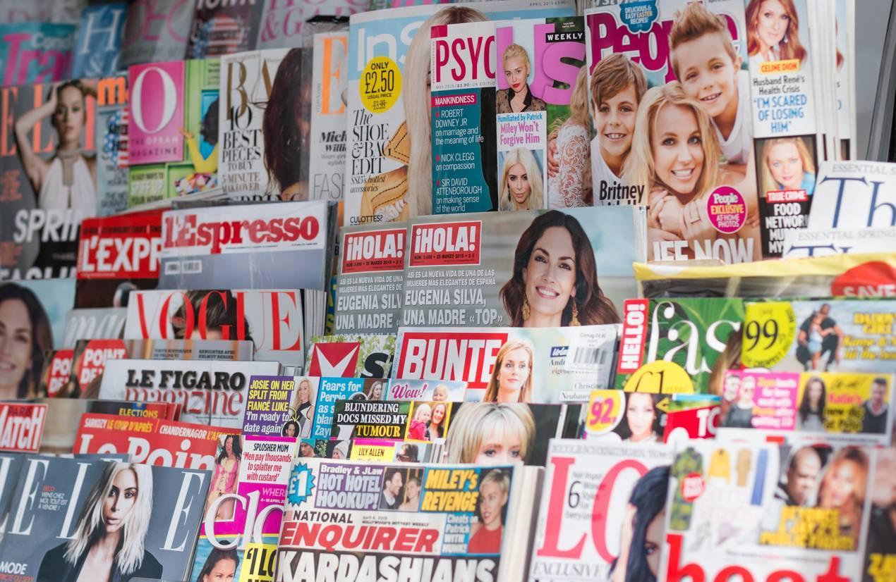 Abonnement aux magazines people