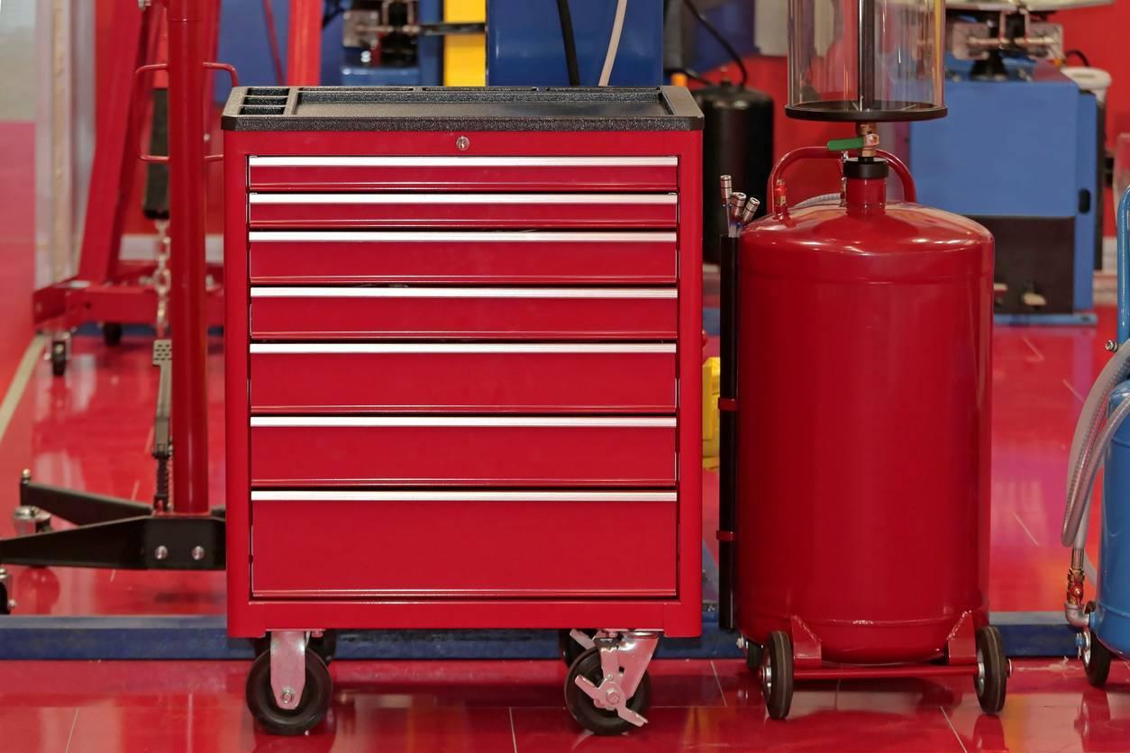 servante atelier garage automobile