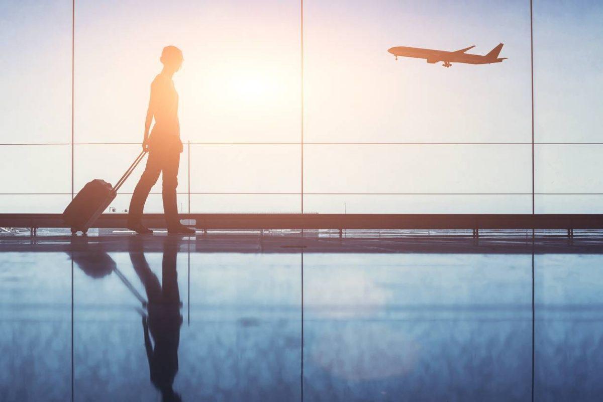 partir voyage étranger avion