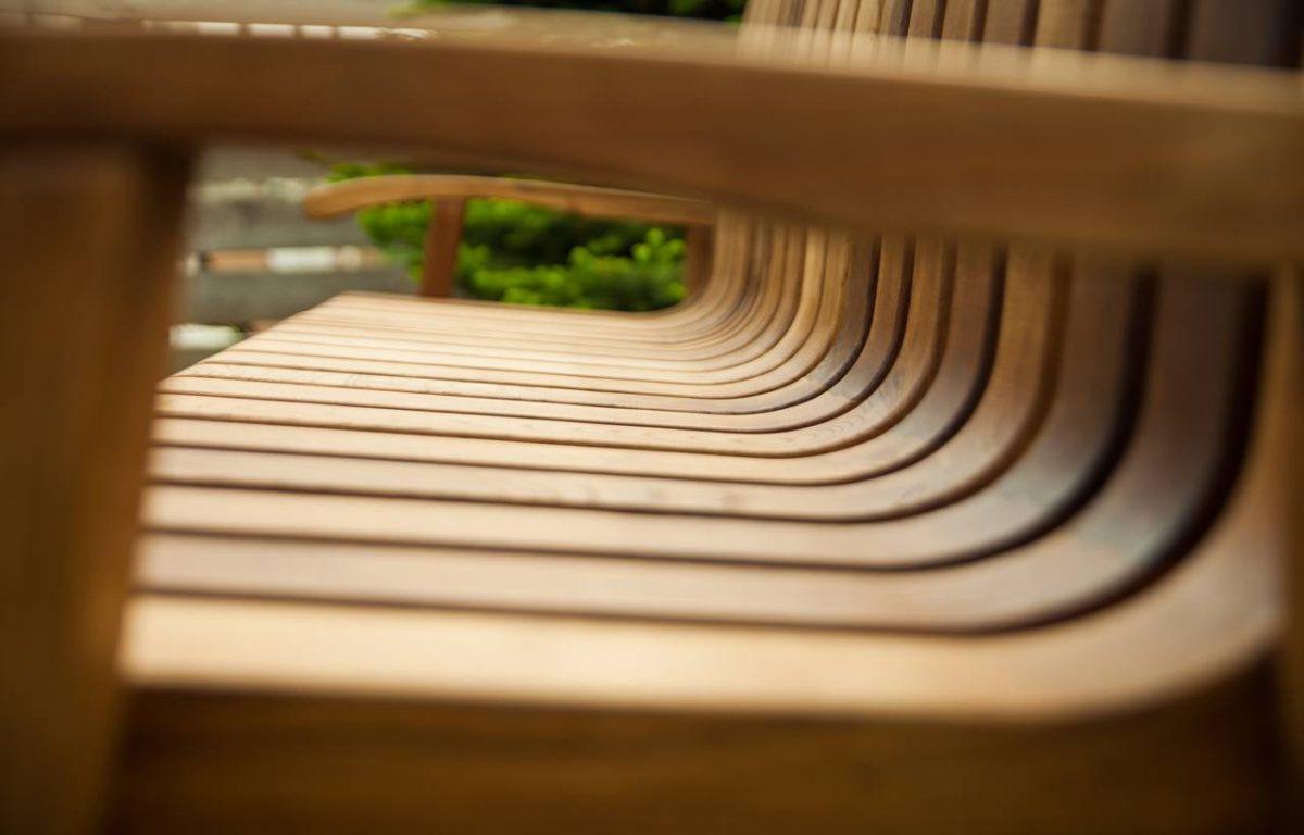 meuble jardin bois